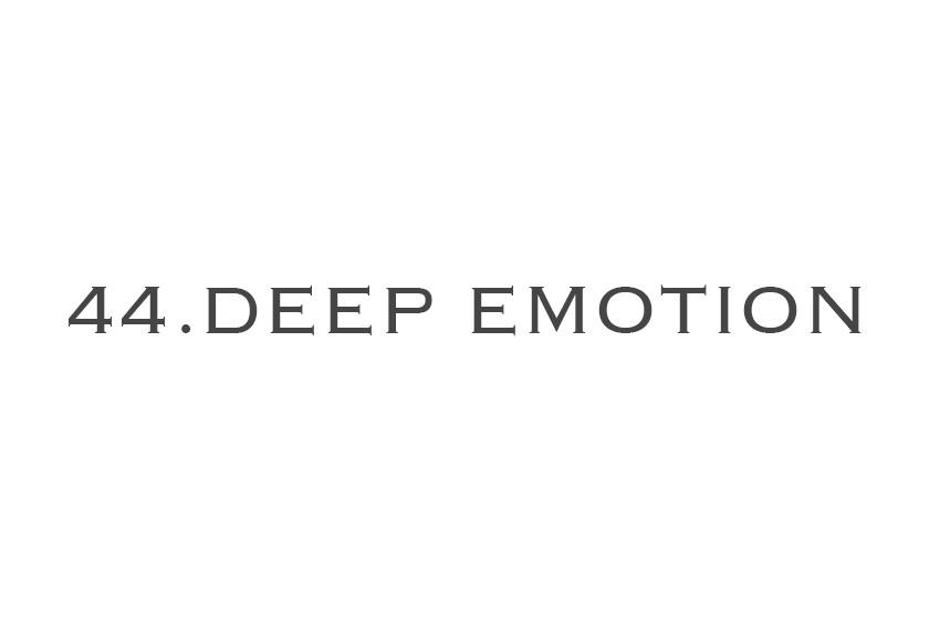 44.DEEP EMOTION ONLINE STORE