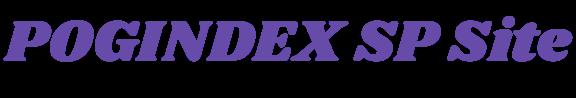 POGINDEX SP Site