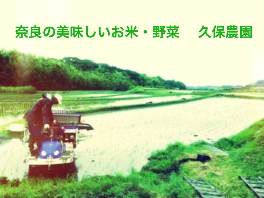 奈良の美味しいお米・野菜販売 久保農園
