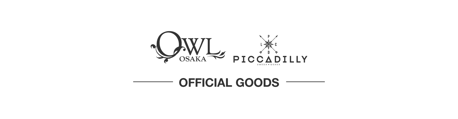 OWL OSAKA×CLUB PICCADILLY OFFICIAL GOODS