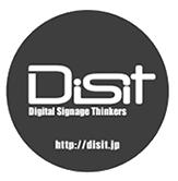 「届いたその日からサイネージ」- Disit Online -