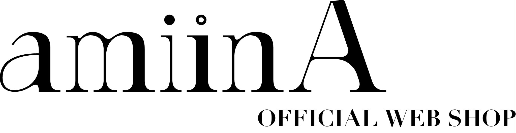 amiinA OFFICIAL WEB SHOP