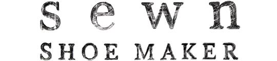Sewn shoe maker