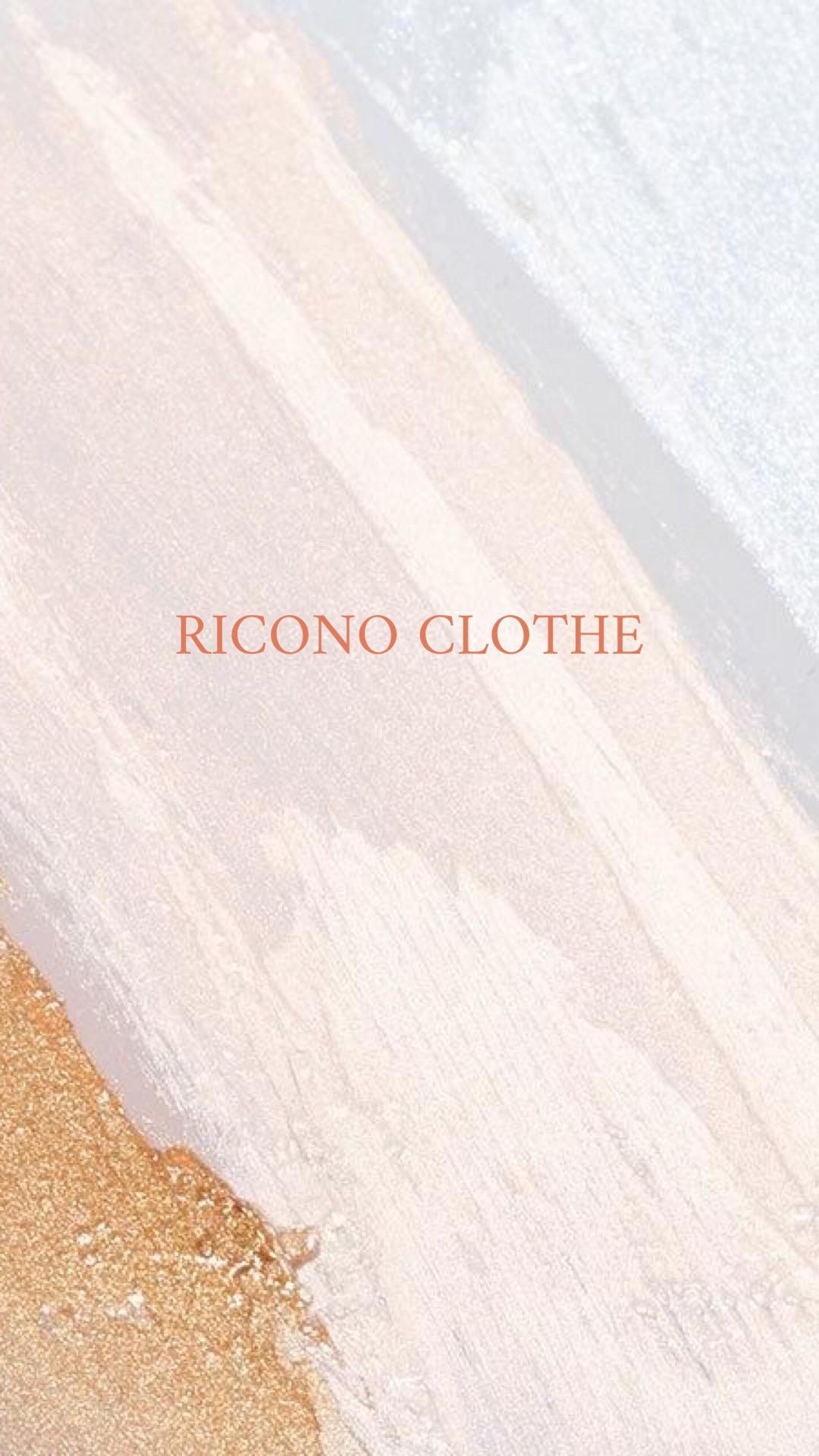 RICONO CLOTHE (リコノクローシェ)