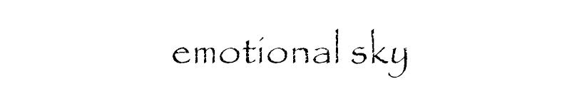 emotional sky