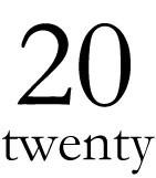 20ーtwentyー