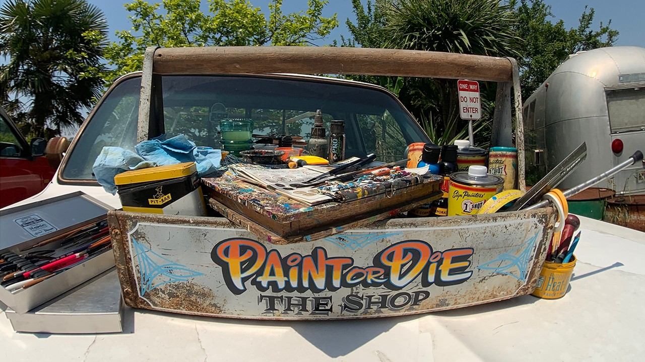 PAINT or DIE THE SHOP