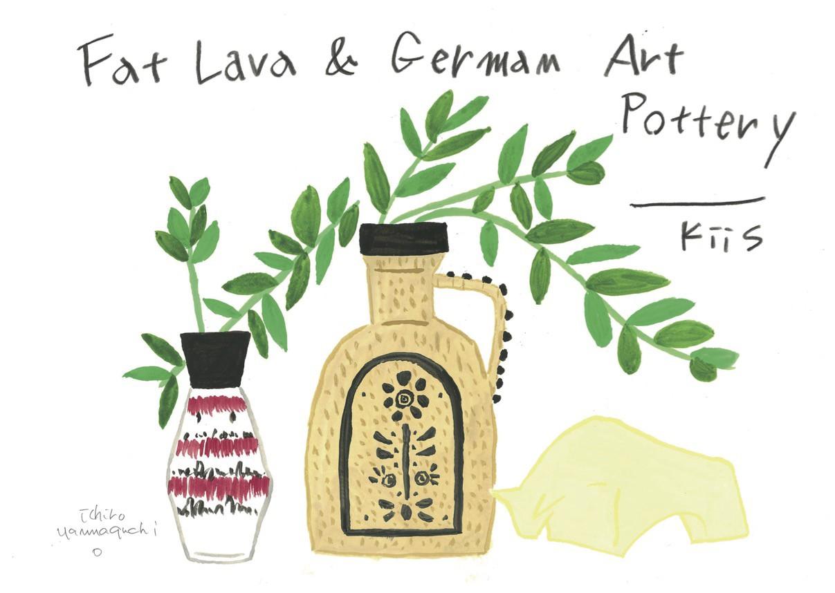 Fat Lava and German Art Pottery-kiis-
