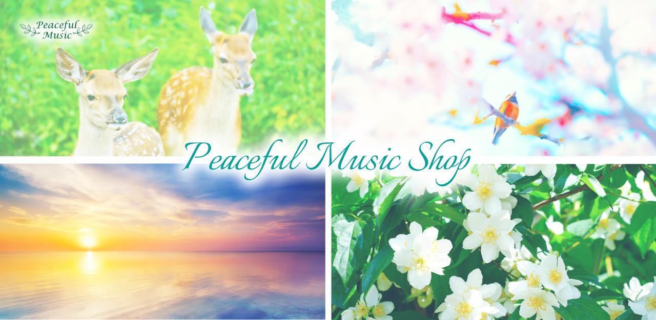 ヒーリングミュージックCD・演奏会チケット販売・楽曲製作 | ピースフルミュージックショップ