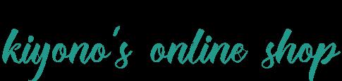 kiyono's online shop