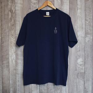 MOZEN ISLAND T-shirt【NAVY】