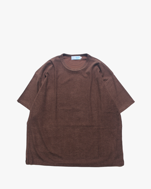 "EACHTIME. Pile T-Shirt ""Big"" Brown"