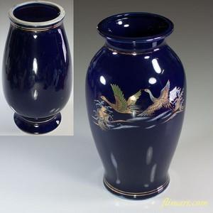瑠璃花瓶W6031