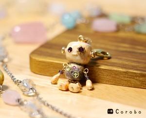 小さなお友達♪ロボットのチャーム Corobo NO.009