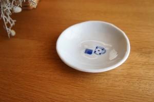 砥部焼/丸小皿/おやつ