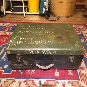 Vintage Iron Military Box