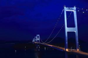 ポストカード 「しまなみ海道の夜景」 WA-213