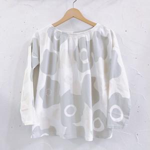 NATURAL LAUNDRY/ランタナプリントタックスクエアTシャツ