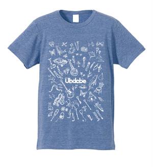 Ubdobe Tシャツ(設立5周年グッズ)/ Blue