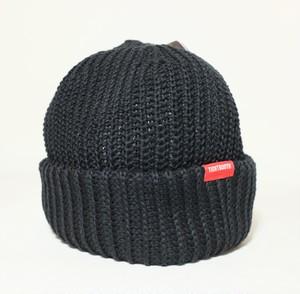 TIGHTBOOTH SHORT KNIT CAP BLACK タイトブース ニットキャップ