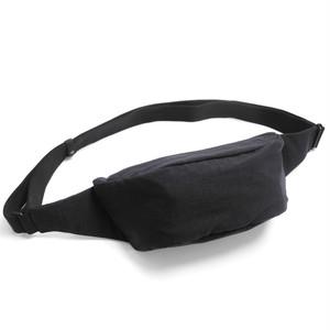 203ABG07 Fabric small waist bag 'demi cercle' ボディバッグ