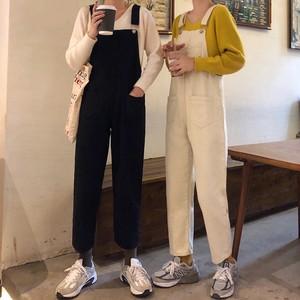 【ボトムス】ファッションハイウエストアンクル丈デニムパンツ25480705