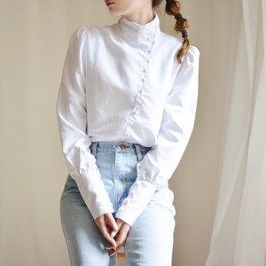 puff sleeve design blouse