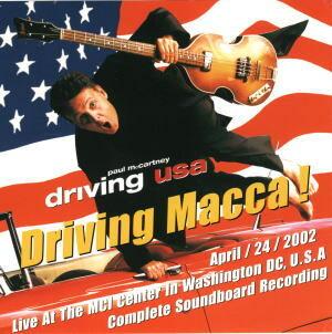 PAUL McCARTNEY / Driving Macca !