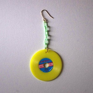 colorful record pierce(yellow)