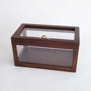 木製フレームショーケース WOODフレーム ガラスショーケース SH-372130