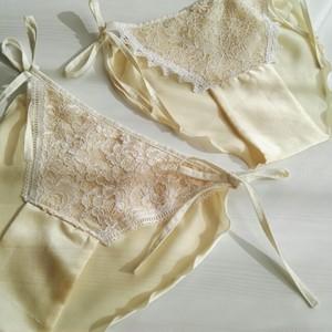 cotton silk  lingerie*ランジェリー ふんどしパンツ