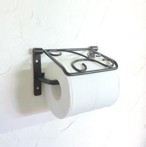 フタ付きデザイントイレットペーパーシングルホルダー