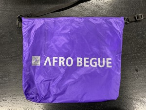 サコッシュ(パープル)【Afro Begue】