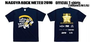 【SALE】NAGOYA ROCK METEO 2016 Tシャツ