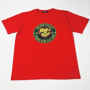 HEART OF SKINS T-SHIRT  Red
