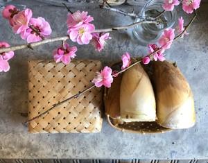 京たけのこ竹籠(上・白子)1.5kg 期間限定3月10日~5月10日