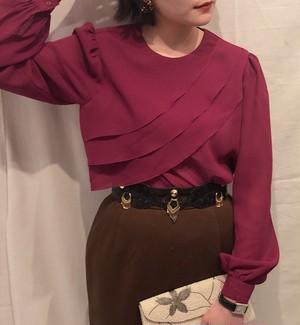 drape blouse