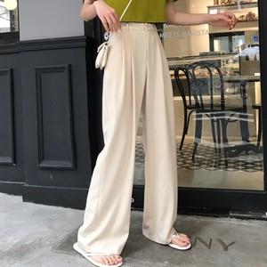【ボトムス】中国系カジュアルスウィート着やせ気質合せやすいガウチョパンツ