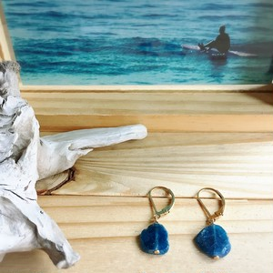 【14kgf】Deep Blue03~サーフィン&ビーチピアス~