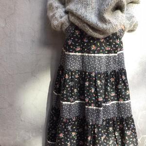 70's ロングスカート