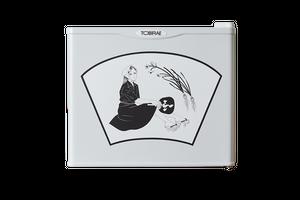 寺本愛 イラストレーター 「涼むひと」 17リットル小型冷蔵庫