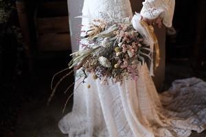 ウェディングブーケ&ブートニア 〜野の花