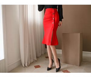 【お取り寄せ品】スリット入りタイトスカート