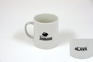 アラヤ マグカップ「TRANSLATION ENGINEERING」