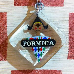 アメリカ FORMICA [フォーマイカ]メラミン化粧板メーカー フランス広告ブルボンキーホルダー