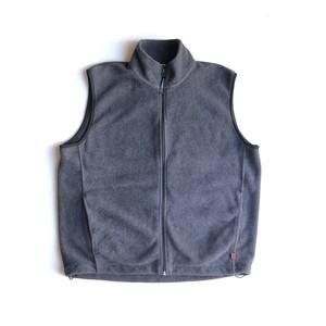 USED WOOLRICH fleece vest - charcoal gray