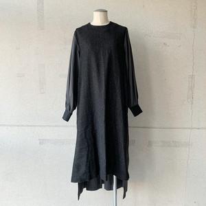 【COSMIC WONDER】Beautiful Linen wool ritual dress/12CW17225