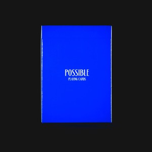 POSSIBLE Playing Cards : Blue
