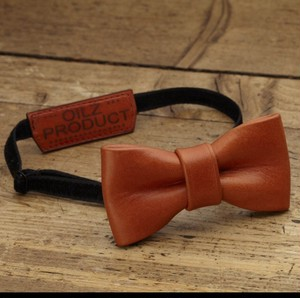 OILZ lether bowtie saddle camel