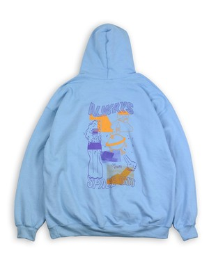 """WACK  WACK """"SPACE OUT pullover parka"""""""